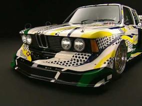 BMW Art Car - 1977 Roy Lichtenstein 320i Group 5.mpg