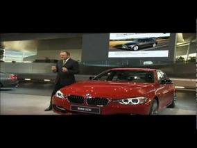 2012 BMW 3-Series World Premiere - Press Conference