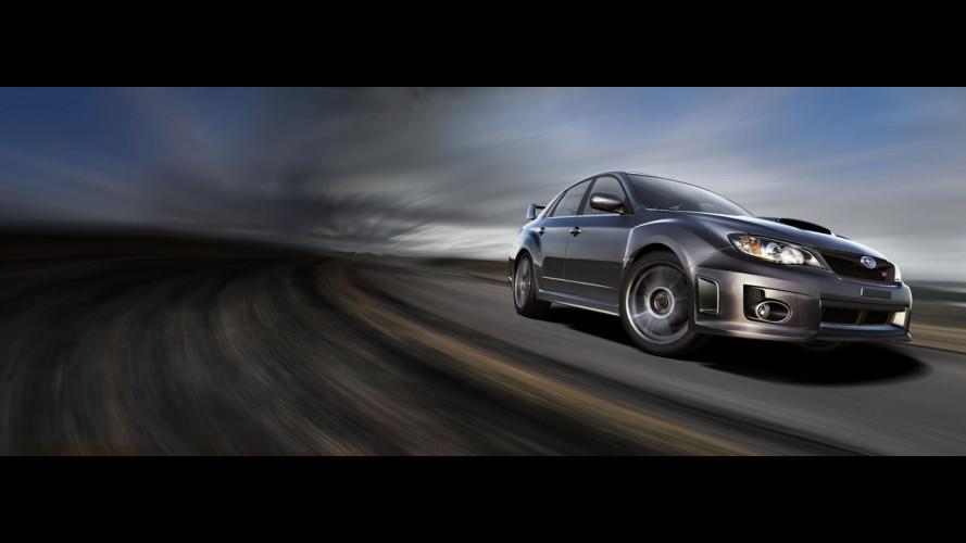 La Subaru WRX STi entra in