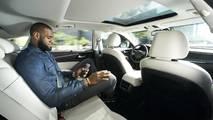 LeBron James promotin autonomous cars