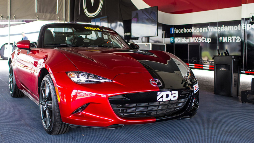 Meet Halfie, The Split-Personality Mazda Miata Race Car