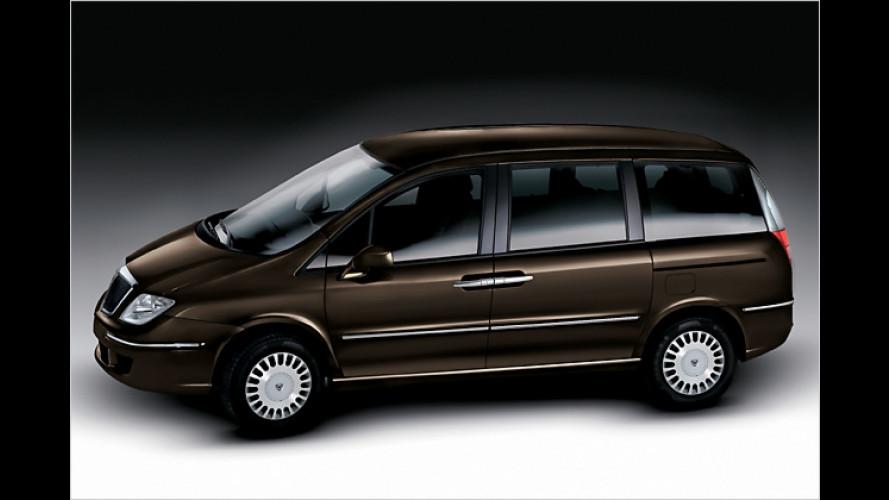 Neue Motorisierung für den Lancia Phedra
