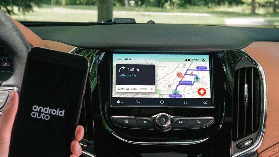 Waze est désormais compatible avec Android Auto