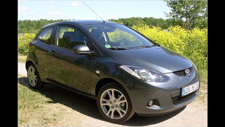 Mazda 2 Sport im Test: Young, sporty and a little bit trashy