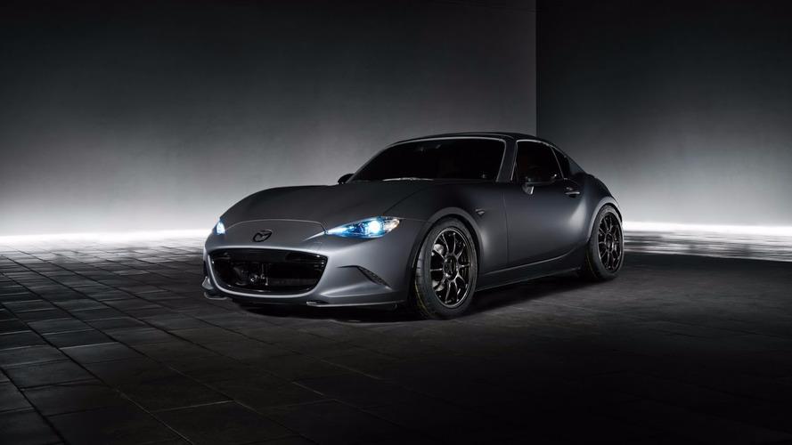 SEMA Show 2016 Mazda MX-5 Miata RF Kuro and MX-5 Speedster Concepts