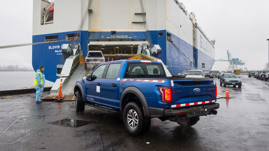 Ford F-150 Raptor arrives in China for the first time