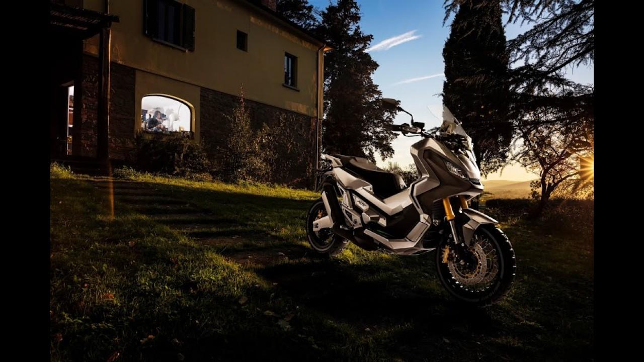 Salão de Milão: Honda City Adventure é proposta de scooter aventureiro