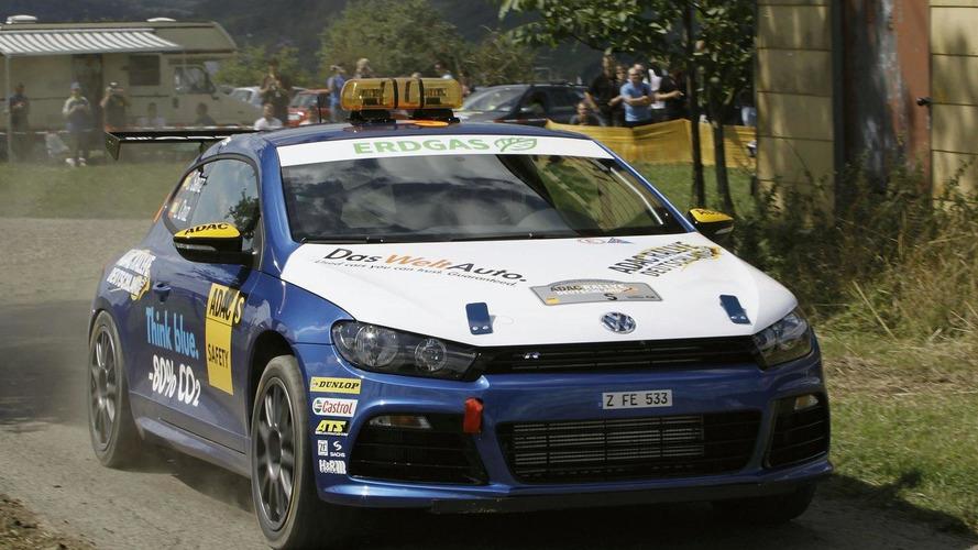 Volkswagen Scirocco R makes rally debut