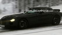 Mercedes SLC Gullwing Winter Testing