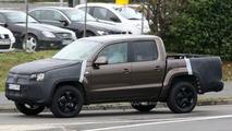 Volkswagen Amarok Pickup Truck Prototype Spied