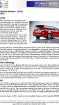 Volvo USA dealer product update bulletin 25.03.2010