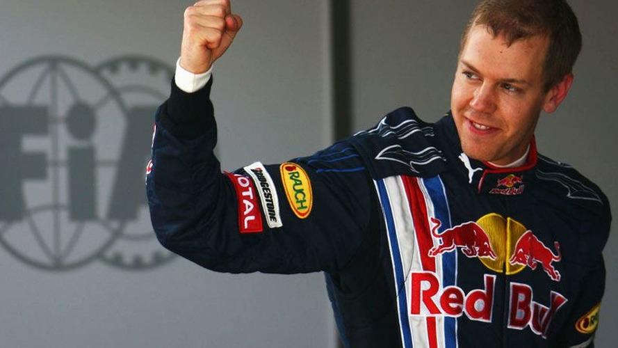 Vettel scores Red Bull's first pole