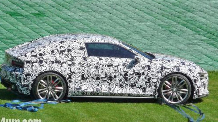 Audi R4 prototype caught a little closer
