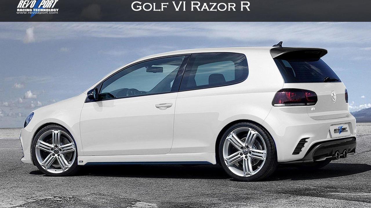 REVOZPORT VW Golf VI Razor R 09.07.2010
