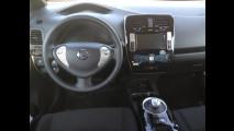 Nissan Leaf, test di consumo reale Roma-Forlì