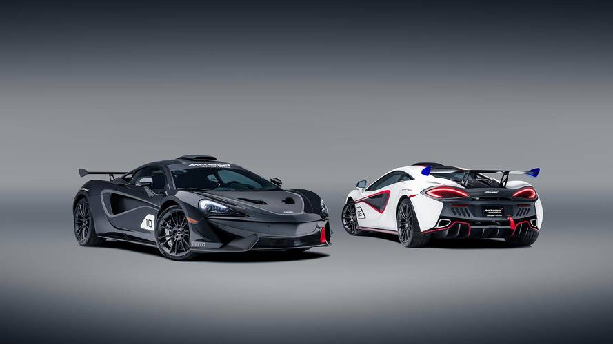570S GT4 race cars get official McLaren conversion