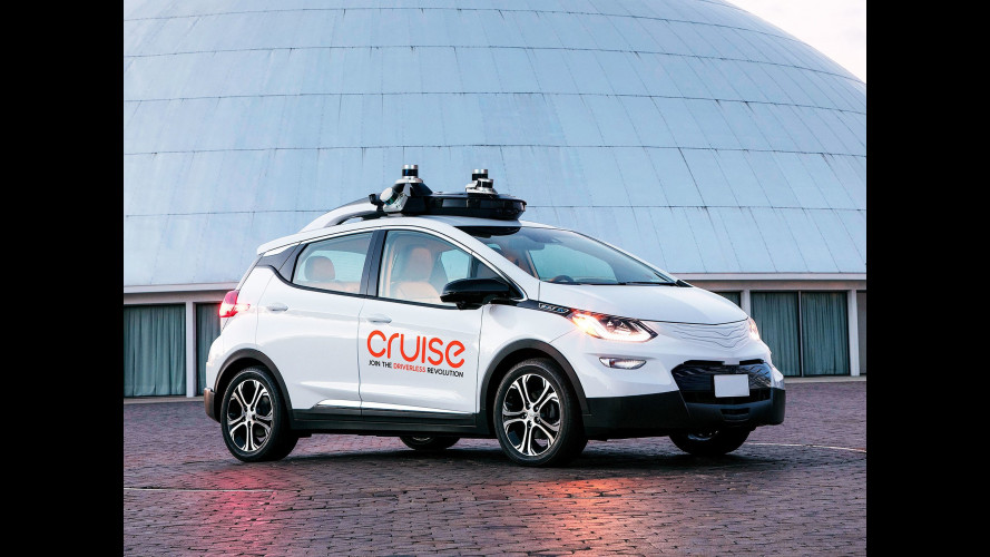 Cruise AV, l'auto senza volante della GM sarà su strada dal 2019
