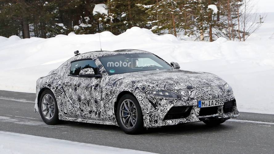 New Toyota Supra shows off its features in latest spy shots