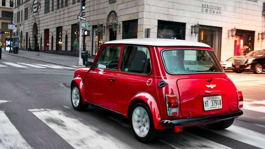 Classic Mini Electric At New York Auto Show