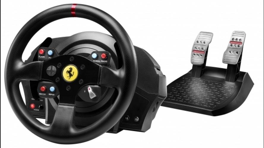 Thrustmaster T300 Ferrari GTE, volante da professionisti [VIDEO]