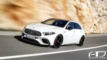 Render Mercedes-AMG A 45 2018