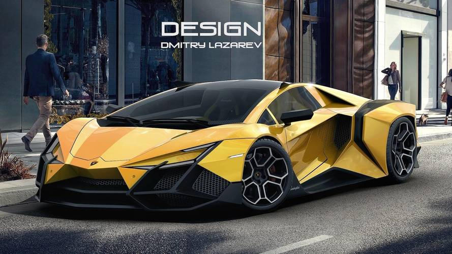Lamborghini Forsennato Hypercar Is Edgy, Even By Italian Standards on