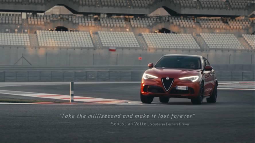 Sebastian Vettel is meghajtotta az Alfa Romeo Stelvio QV-t