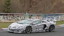 2019 Lamborghini Aventador SV Jota yeni casus fotoğraf