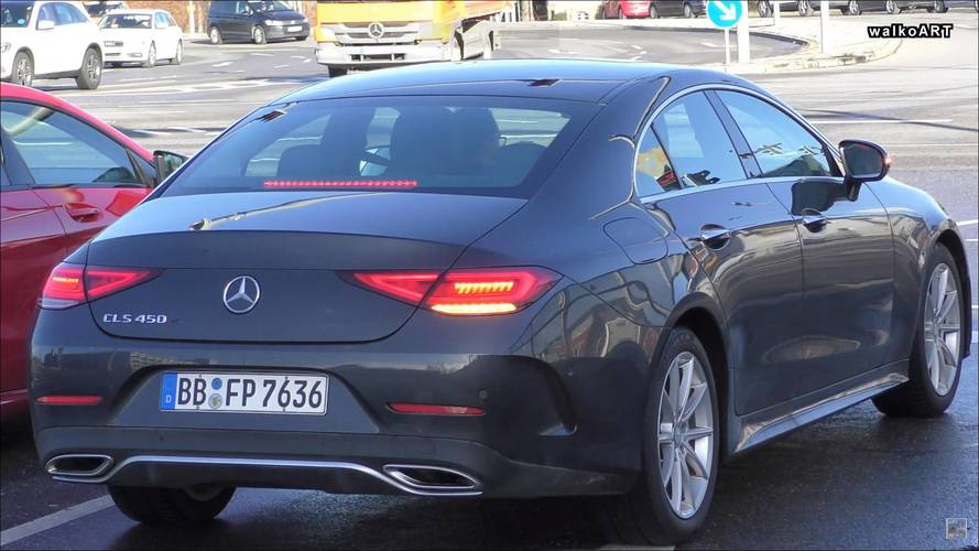 Mercedes CLS 450 Spotted Briefly In The Metal On A Sunny Day