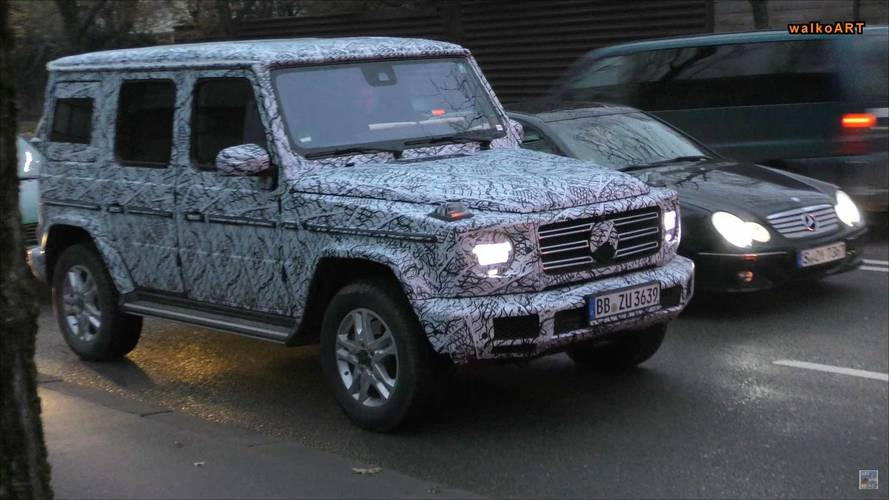 2018 Mercedes G-Class Spied Looking Very Much Like A G-Class