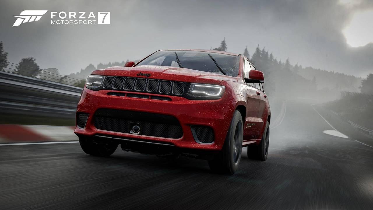 Jeep Grand Cherokee Trackhawk Forza Motorsport 7