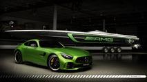 Cigarette Racing Mercedes-AMG GT R'dan ilham alan tekne