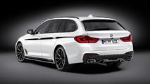 2017 BMW 5 Series Touring with M Performance parts