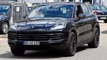 2018 Porsche Cayenne New Spy Shots