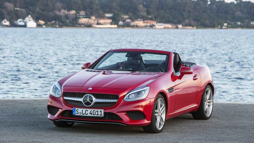 Mercedes SLK e SLC são convocados no Brasil por falha no ESP