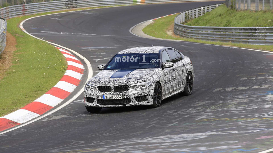 2018 BMW M5 Spied Testing At The Nürburgring