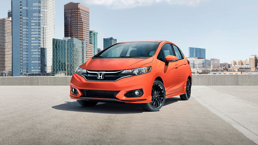 Honda Fit Updated For 2018, Gains New Sport Trim