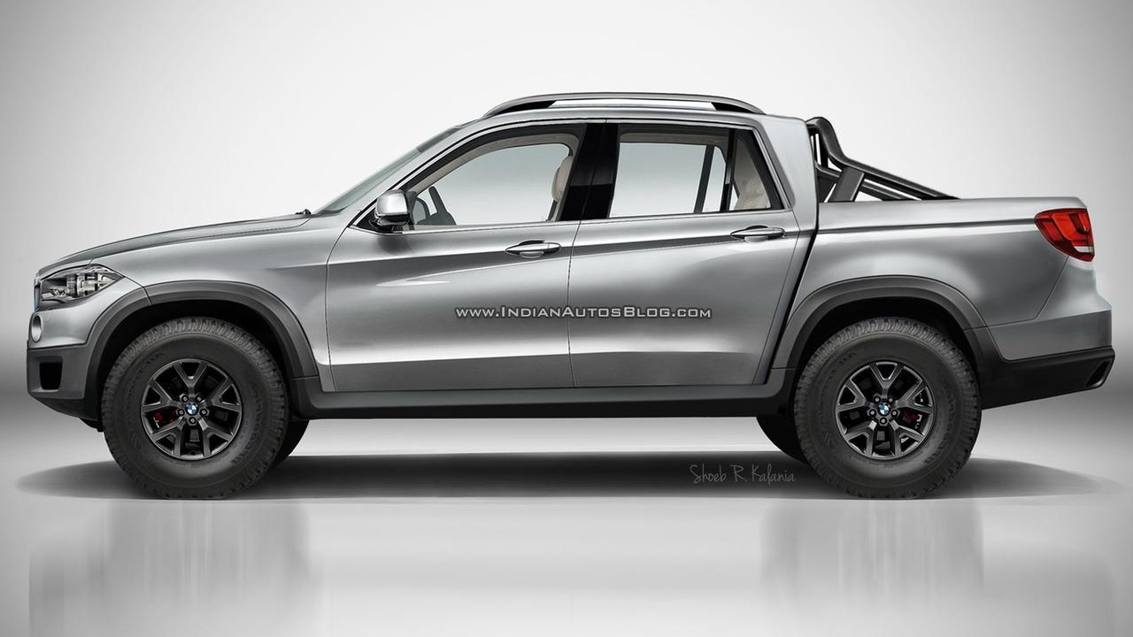 BMW pick-up render
