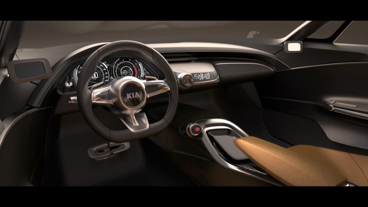 Pré-Frankfurt: Kia libera novas imagens e informações sobre o GT Concept