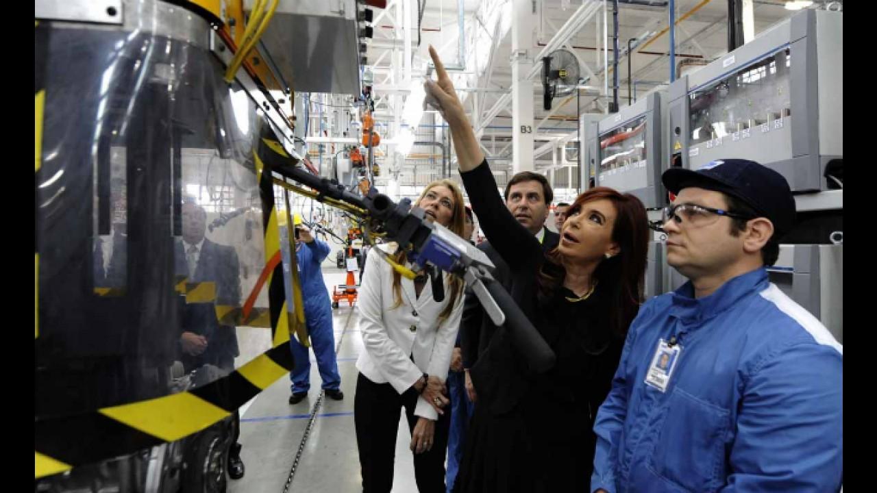 Ford inaugura nova fábrica de motores na Argentina