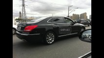 Flagra: Hyundai Equus VS4600 roda sem disfarces no Brasil