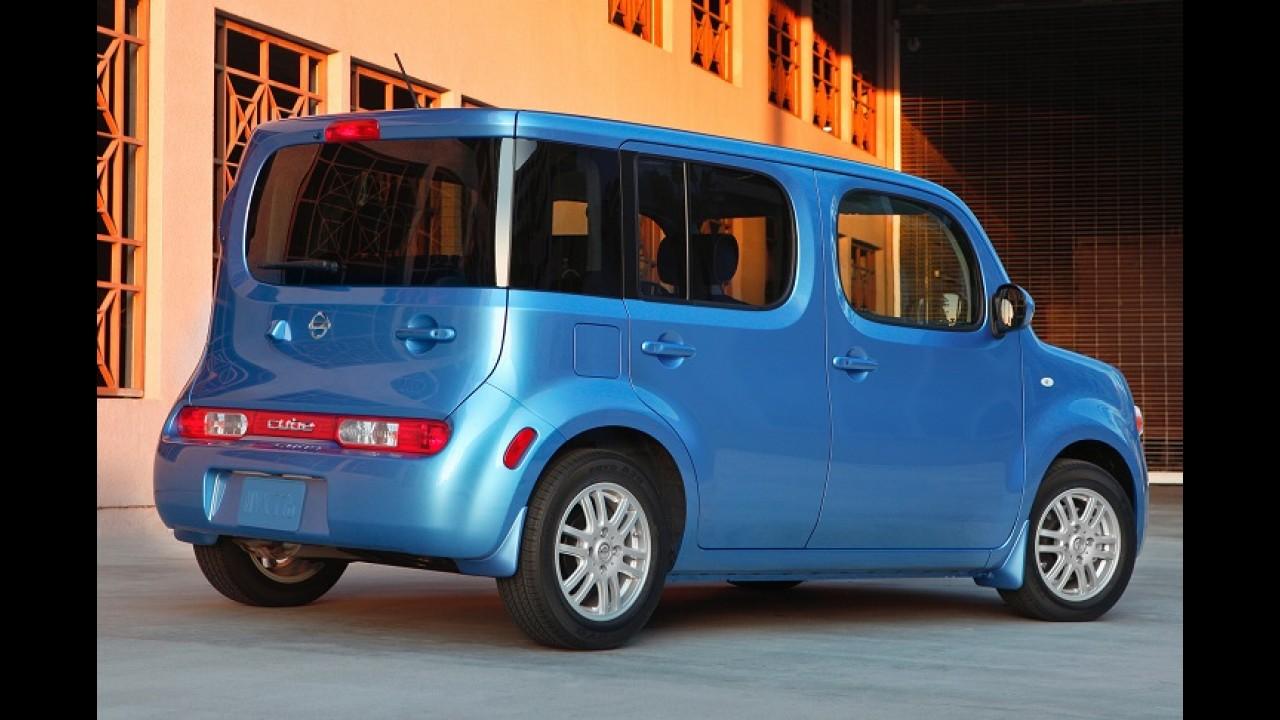 Confirmado: Nissan decreta fim de linha para Cube e Murano CrossCabriolet