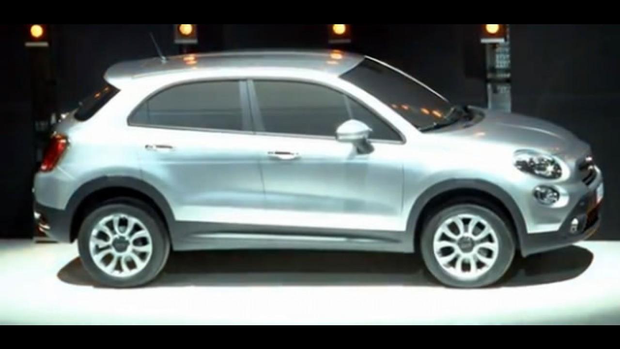 Fiat 500X aparece em conferência - Novo SUV compacto brigará com Duster e EcoSport no Brasil