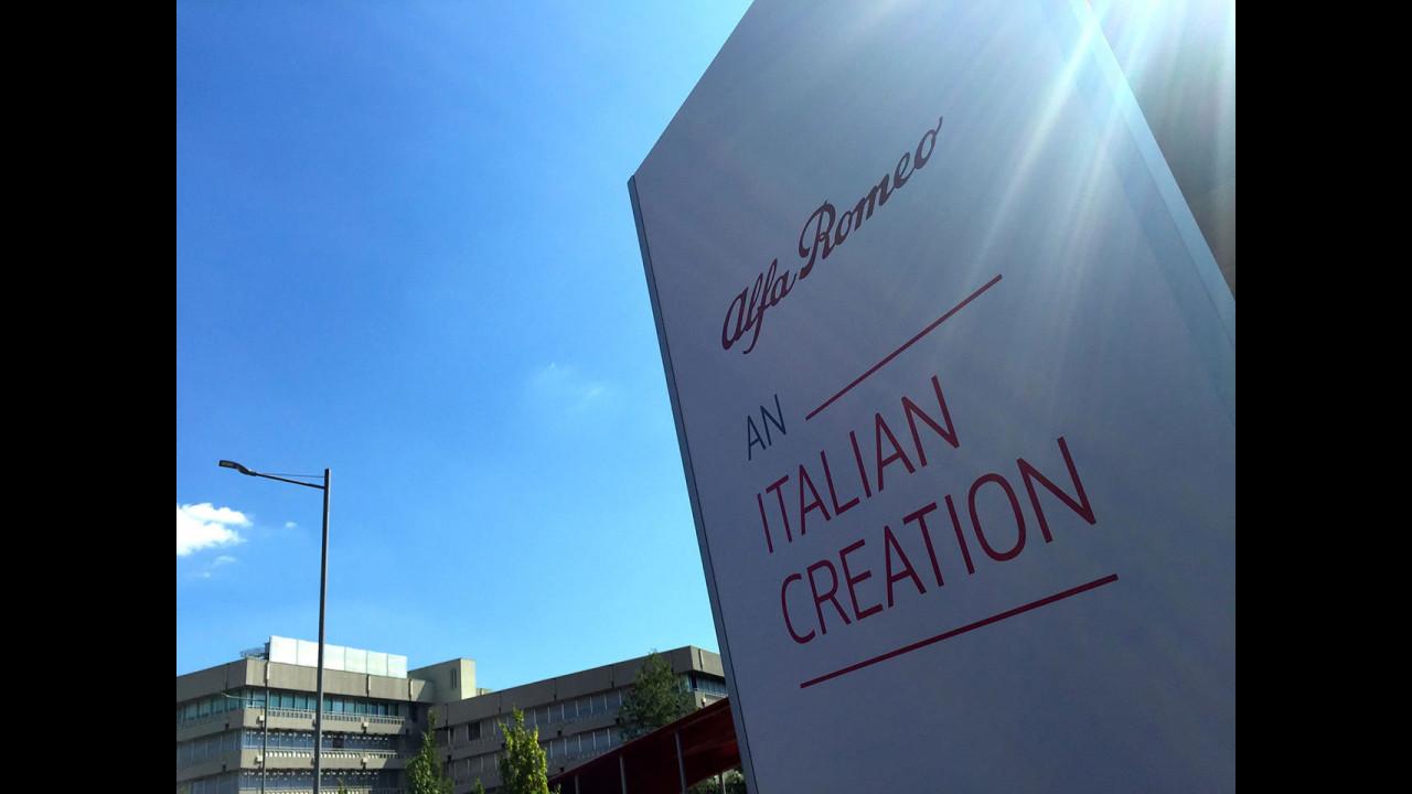 Alfa Romeo Giulia, la presentazione ad Arese