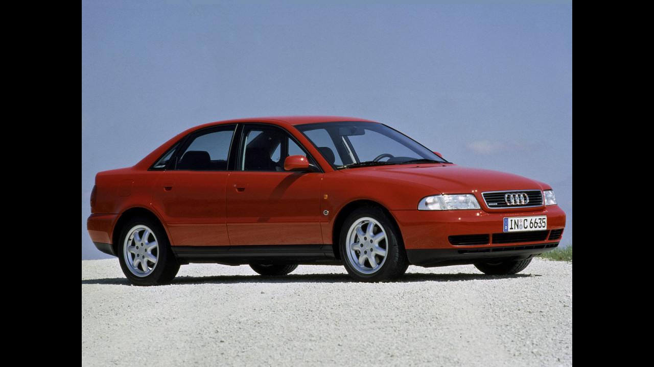 Audi A4, 20 anni di berline medie