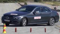 Mercedes-Benz C-Class moose test