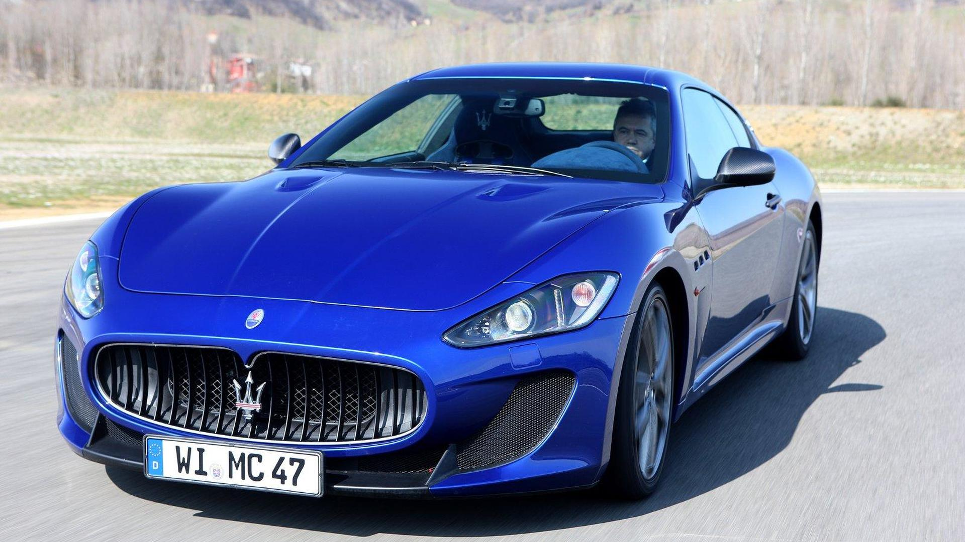 Maserati GranTurismo and Quattroporte to get Chrysler's Pentastar V6