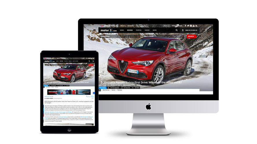 Une édition de Motor1.com destinée au Royaume-Uni