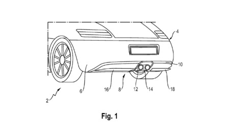 Porsche Aims To Clean Up Aero With Active Rear Diffuser Patent