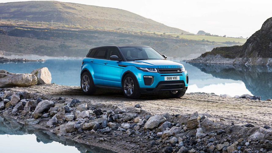 Land Rover Evoque Landmark Edition Celebrates CUV's Huge Success